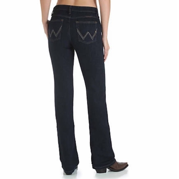 fashionablestyle ever popular fashion design Wrangler Q Baby denim western women's jeans 5/6